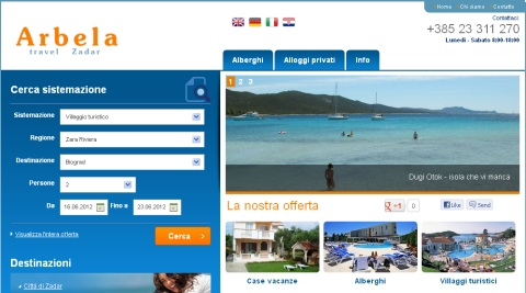 Arbela Zadar Travel Agency